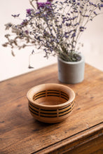 Load image into Gallery viewer, Laminated bowl, wengue, chenstnut and beech