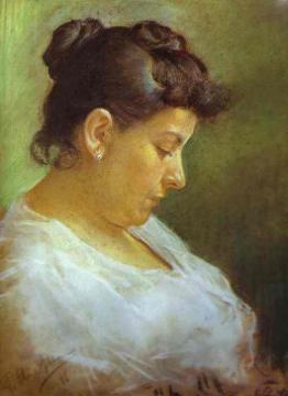 Portrait of the Artists Mother 1896