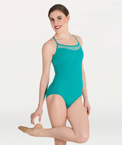 Tiler Peck Mesh Camisole leotard by Body wrappers