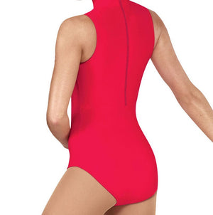 Sleeveless Mock neck leotard