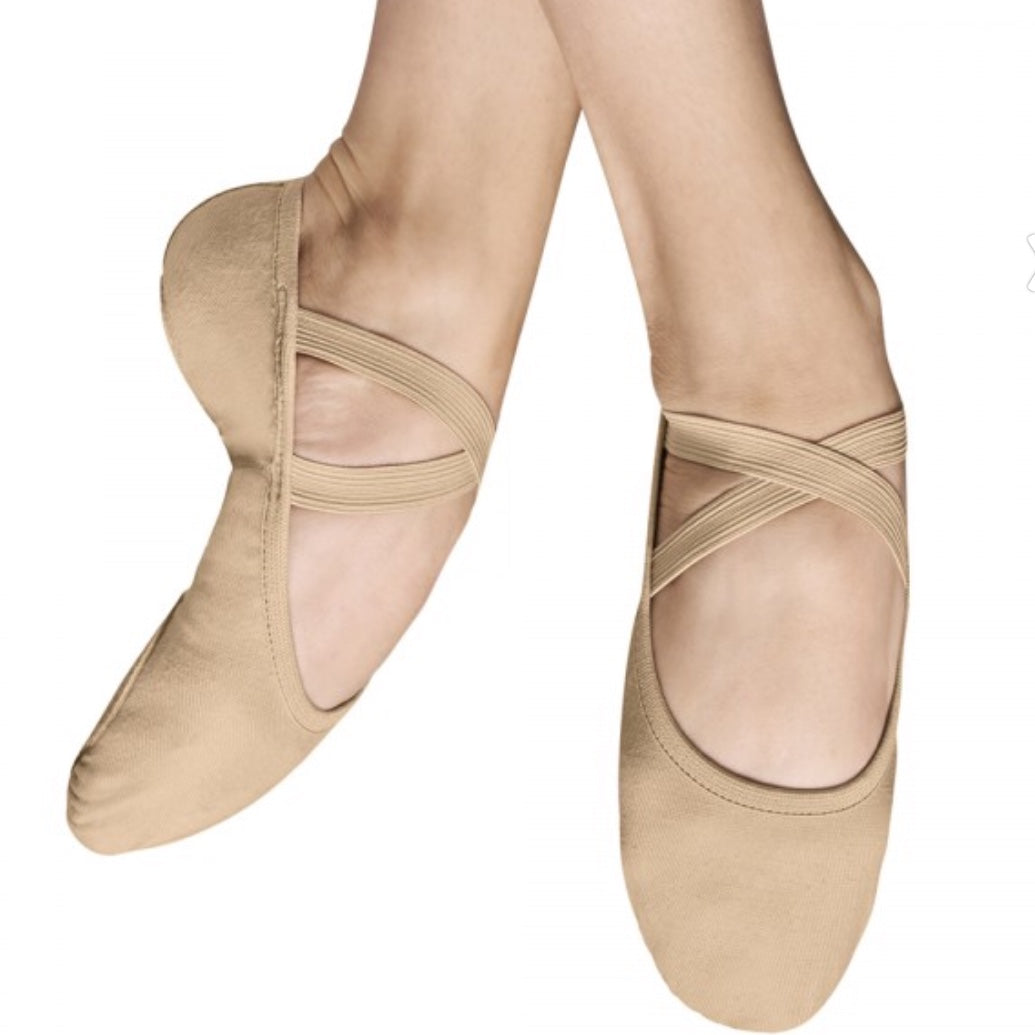 Bloch  Performa Stretch canvas ballet shoes