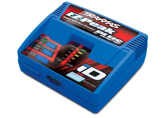 Traxxas 2970 EZ Peak Plus 4-amp Fast Charger (NiMH/LiPo) iD Auto Battery Identification