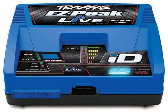 Traxxas EZ Peak Live 100W 12-Amp Fast Charger w/iD Technology - TRA2971