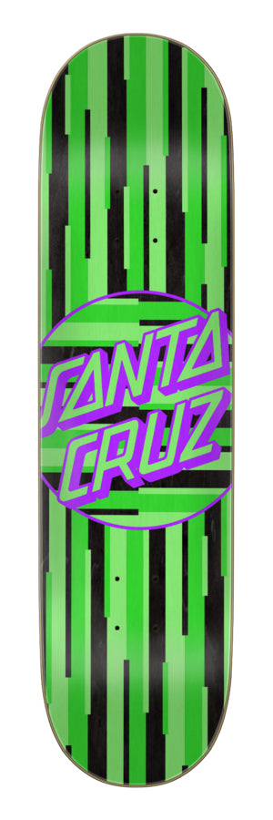 Santa Cruz 8.125x31.7 Santa Cruz Strip Stripe Dot Team Deck