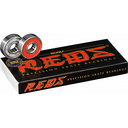 Bones - REDS Skateboard Bearings 8 Pack