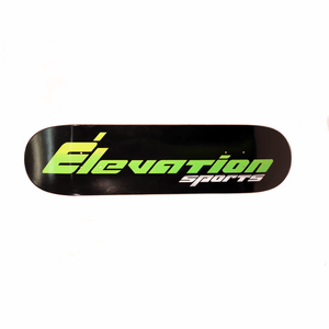 Elevation Shop Deck