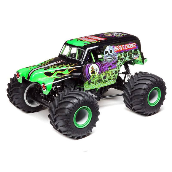LOSI LMT 4WD Solid Axle Monster Truck RTR, Grave Digger
