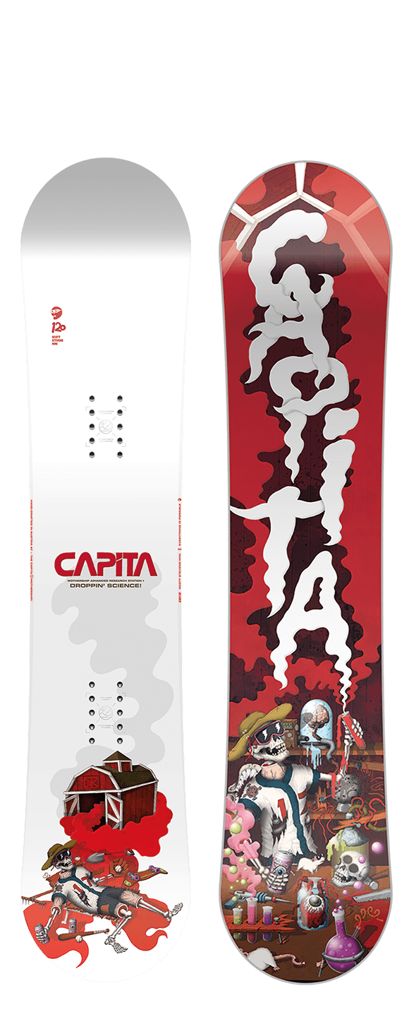 2021 CAPITA SCOTT STEVENS MINI YOUTH SNOWBOARD