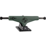 "Silver M-Class Spectrum Skateboard Trucks 8.0"" - Green (Set of 2)"