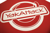 Yak Attack Get Hooked Logo Tow Flag
