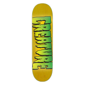 Creature Stumps Logo Deck - Yellow