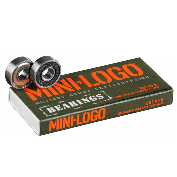 Mini-Logo Precision Skate Bearings - Series 3