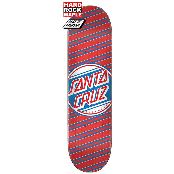 Santa Cruz Street Dot Hard Rock Maple Deck 8.25