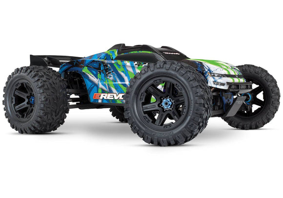 Traxxas E-Revo VXL Brushless: 1/10 Scale 4WD Electric Monster Truck with TQi 2.4GHz