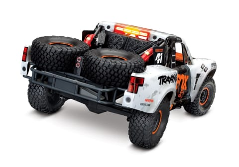 Traxxas Unlimited Desert Racer: 4WD Electric Race Truck WITH