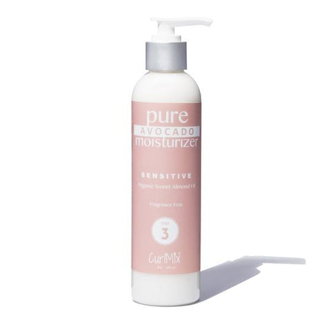 CurlMix Pure Avocado Moisturizer Organic Sweet Almond Oil - Fragrance Free - Product Junkie DC