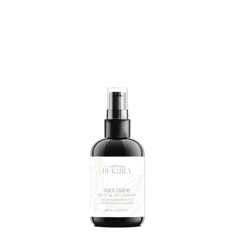Bekura Black Tisane Tea-To-Oil Hair Conserve 2oz