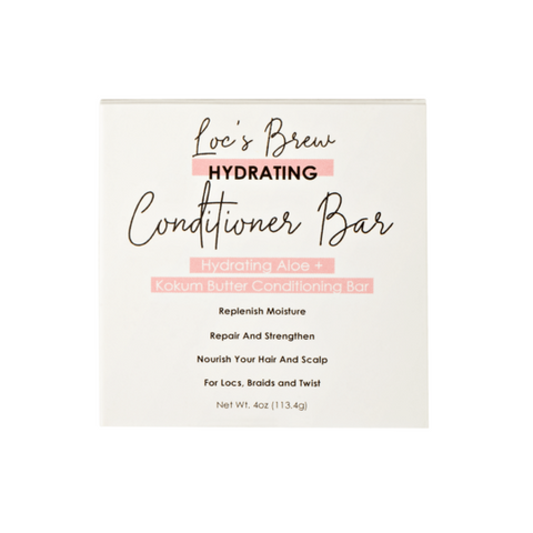 Locs' Brew Hydrating Aloe + Kokum Conditioning Bar 4 oz - Product Junkie DC