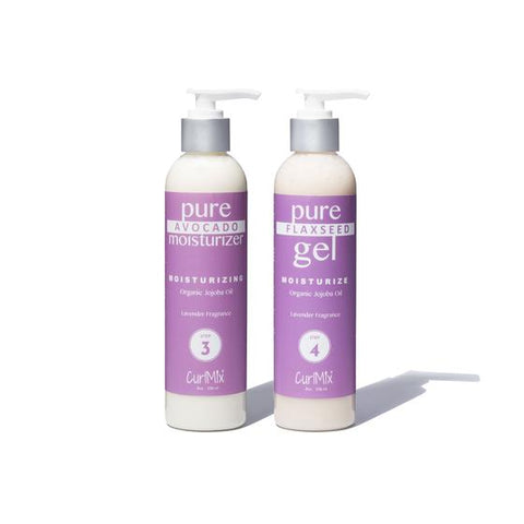 CurlMix Wash and Go Set Organic Jojoba Oil - Lavender Fragrance - Product Junkie DC