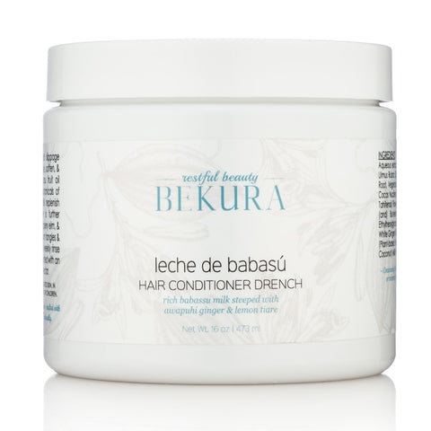 Bekura Leche De Babasù Hair Conditioner Drench 16 oz