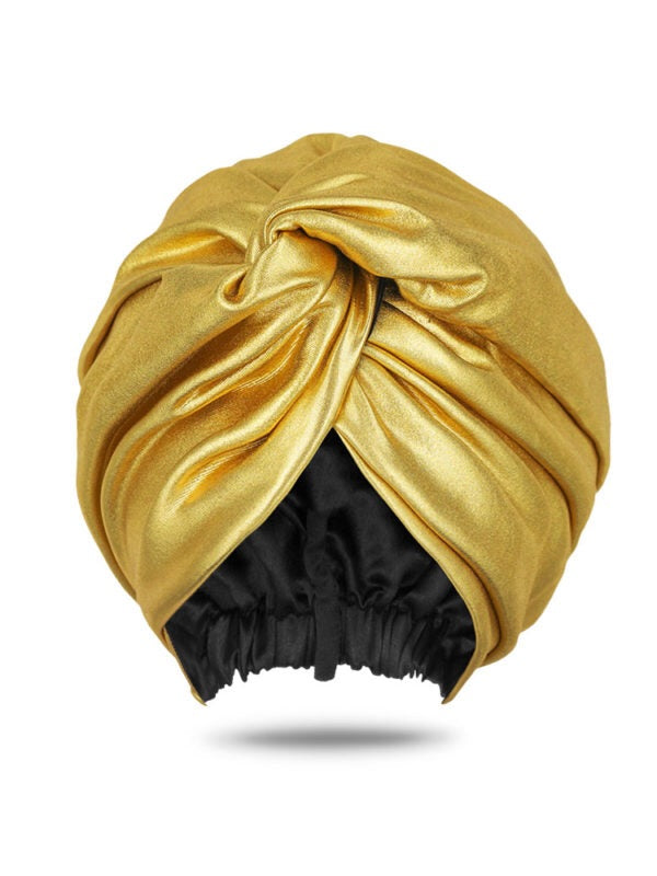 Lozatam Gold Turban Head Wrap