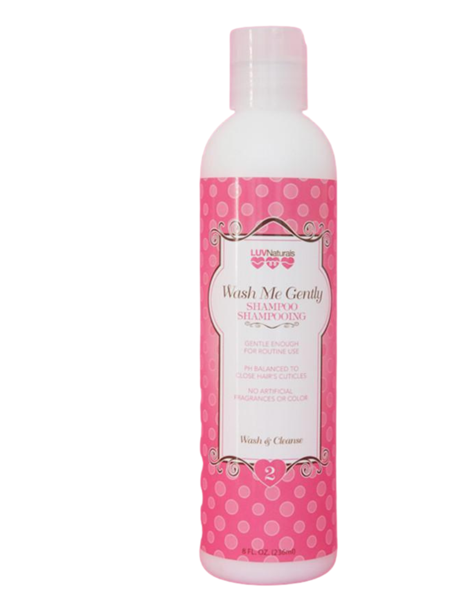 LuvNaturals Wash Me Gently Shampoo 8oz - Product Junkie DC