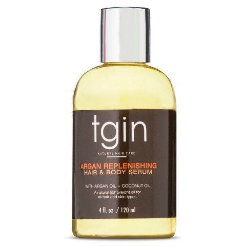 TGIN Argan Replenishing Hair & Body Serum 4oz - Product Junkie DC