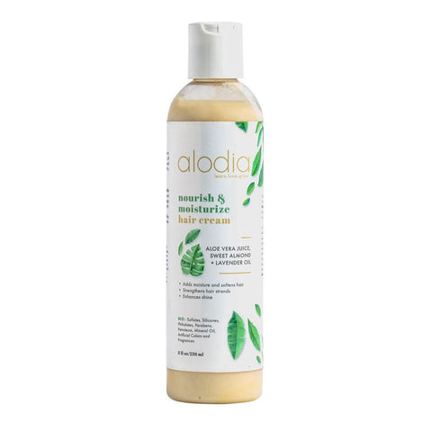 Alodia Nourish & Moisturize Hair Cream 8 oz - Product Junkie DC