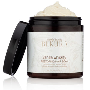 Bekura Vanilla Whiskey Restoring Hair Soak 9 oz - Product Junkie DC