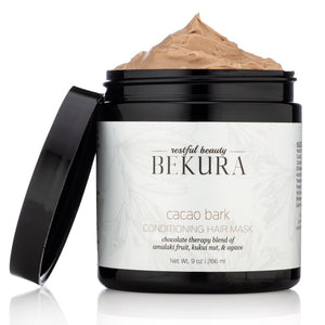 Bekura Cacao Bark Conditioning Hair Mask 9oz - Product Junkie DC