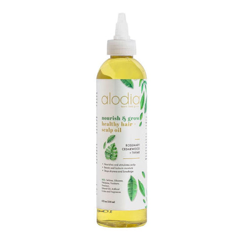 Alodia Nourish & Grow Healthy Hair and Scalp Oil 8 oz