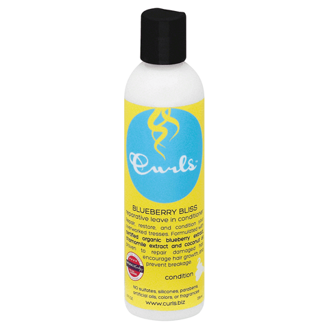 Curls Blueberry Bliss Reparative Leave In Conditioner