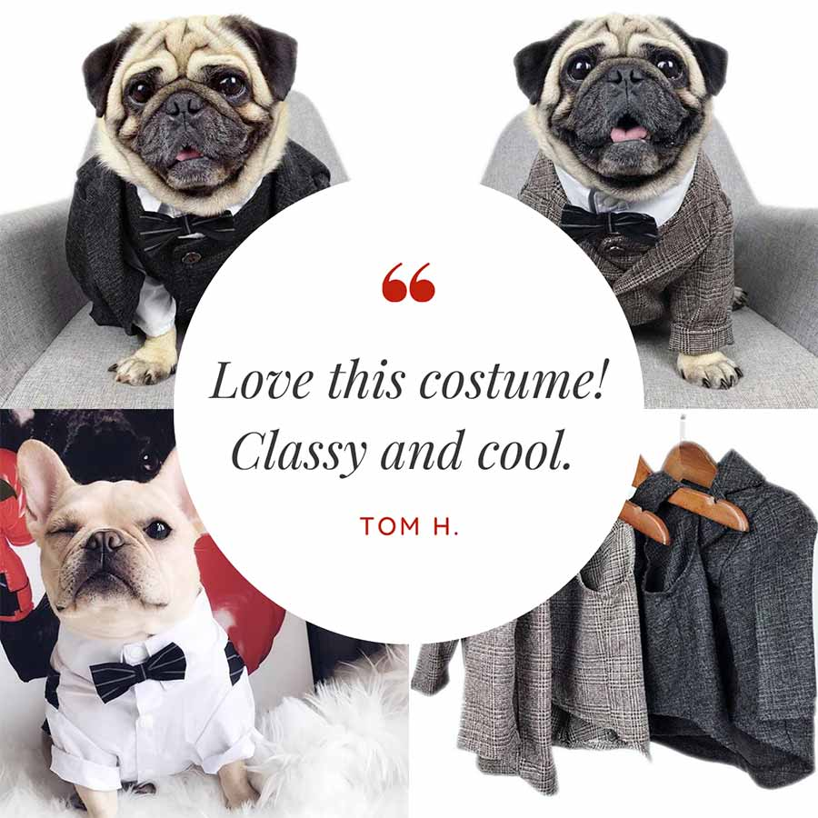 Customer Quote: Love this costume! Classy and cool. Tom H.