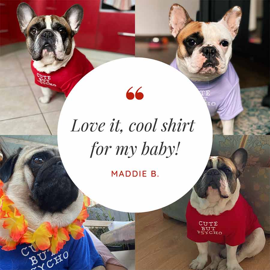 Customer Quote: Love it, cool shirt for my baby! Maddie B.