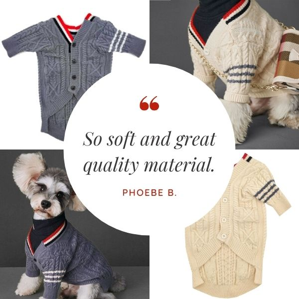 Customer Quote: So soft and great quality material. Phoebe B.