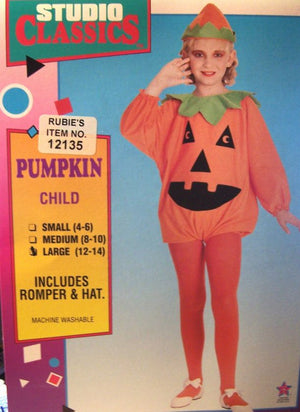 KIDS COSTUME: Pumpkin Costume Ages 4-6