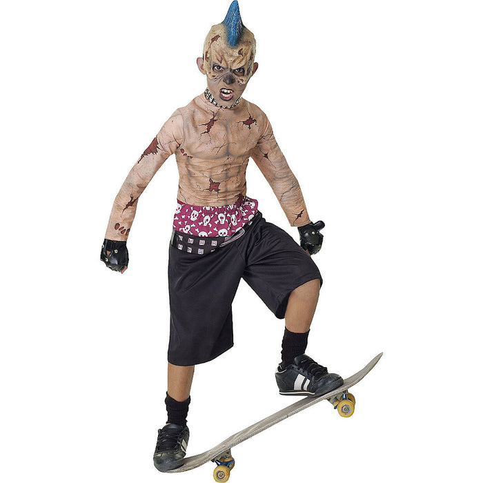 KIDS COSUTME: Zombie Skate Punk costume