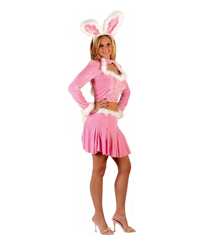 ADULT COSTUME: Pink Sexy Bunny Costume
