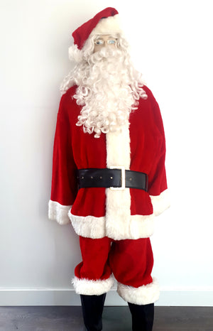 COSTUME RENTAL - S101 PLUSH SANTA SUIT RENTAL..