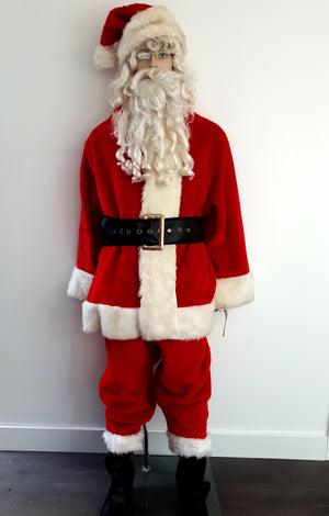 COSTUME RENTAL - S103 PLUSH SANTA SUIT ..