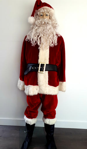 COSTUME RENTAL - S100 IMPERIAL CRIMSON SANTA  ..