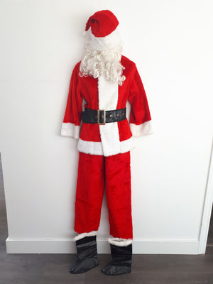 COSTUME RENTAL - S125 Child Santa Deluxe Large