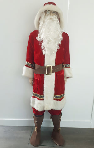 COSTUME RENTAL - S107 Old time Santa Clause..