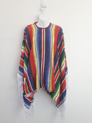 COSTUME RENTAL - I24 Mexican Poncho