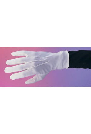 ACCESS: Gloves, white short
