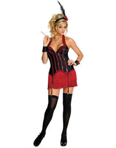 ADULT COSTUME: 1920's Flapper, Playboy