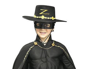 HAT: Zorro hat set child's