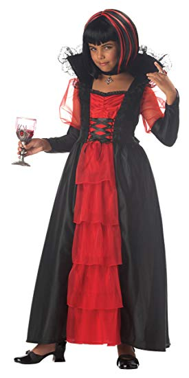 KIDS COSTUME: Regal Vampira Costume