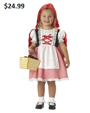 KIDS COSTUME:  Classic Red Riding Hood Costume