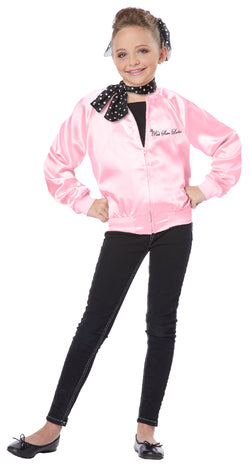 KIDS COSTUME: 1950's Pink Ladies Jacket